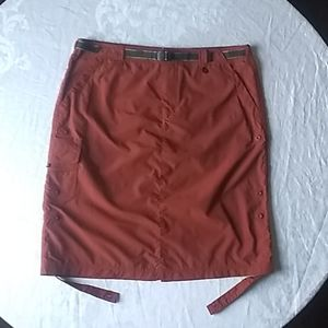 REI backpacking skirt brick color 10